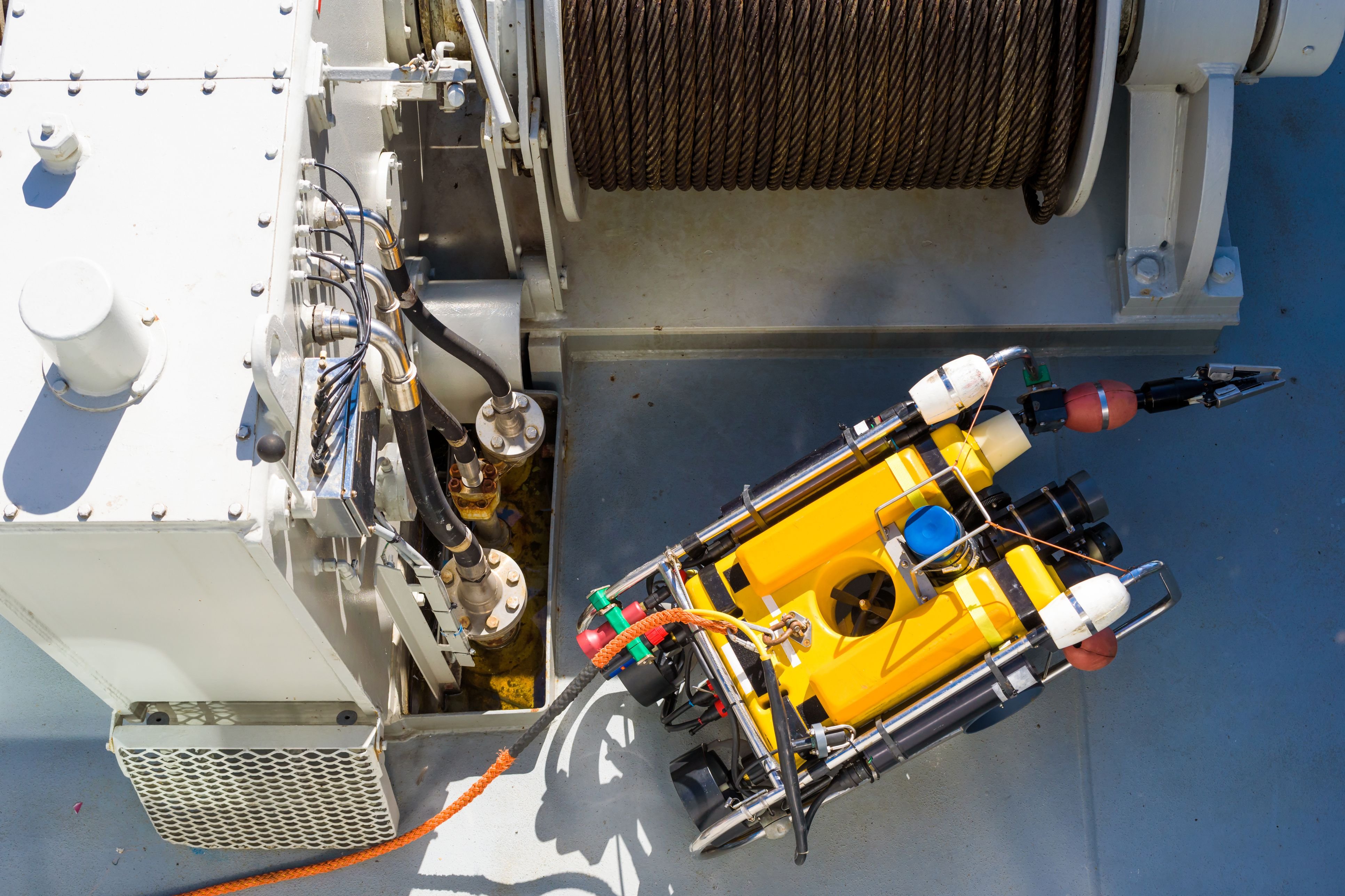 Remote Operated Vehicles (ROVs)