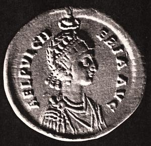 Pulcheria-Münze
