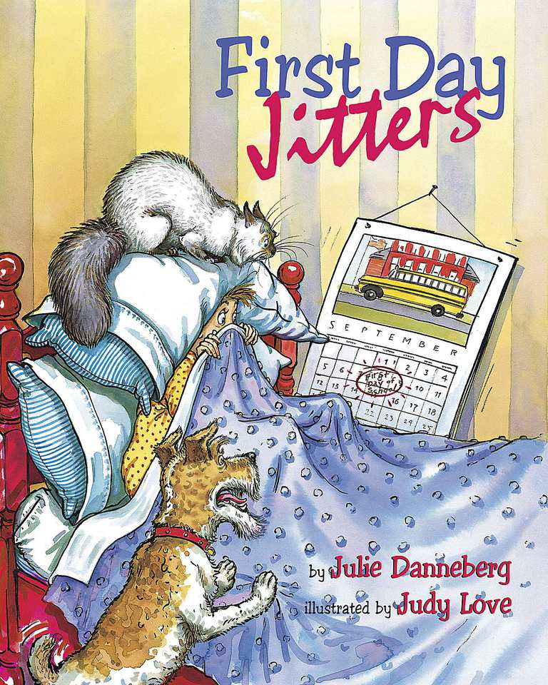 First Day Jitters - Picture Book Cover
