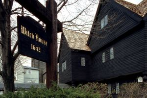 The Witch House in Salem, Massachusetts, was the home of witch trials Judge Jonathan Corwin.