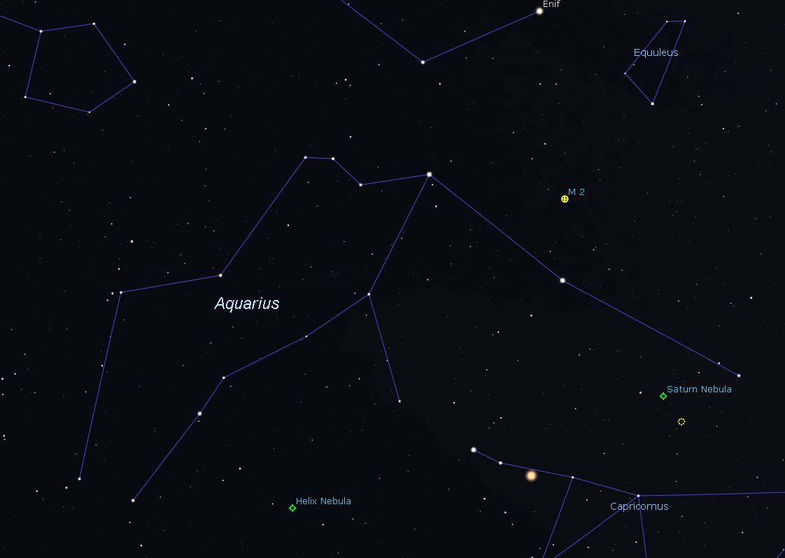 How to Find the Aquarius Constellation