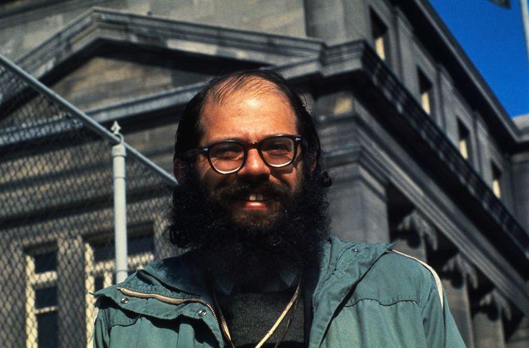 Portrait of Allen Ginsberg
