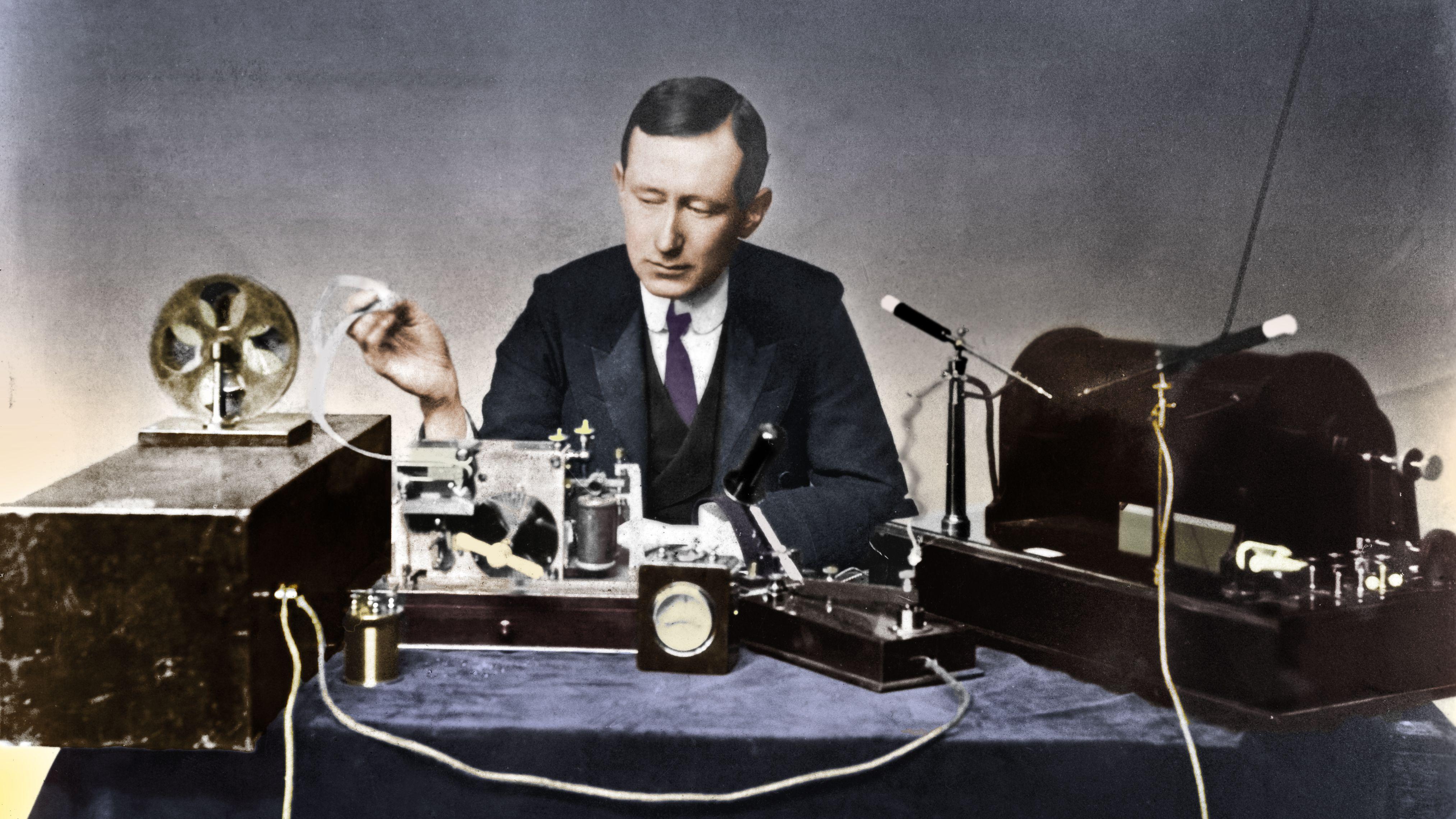 Biography of Guglielmo Marconi, Italian Inventor