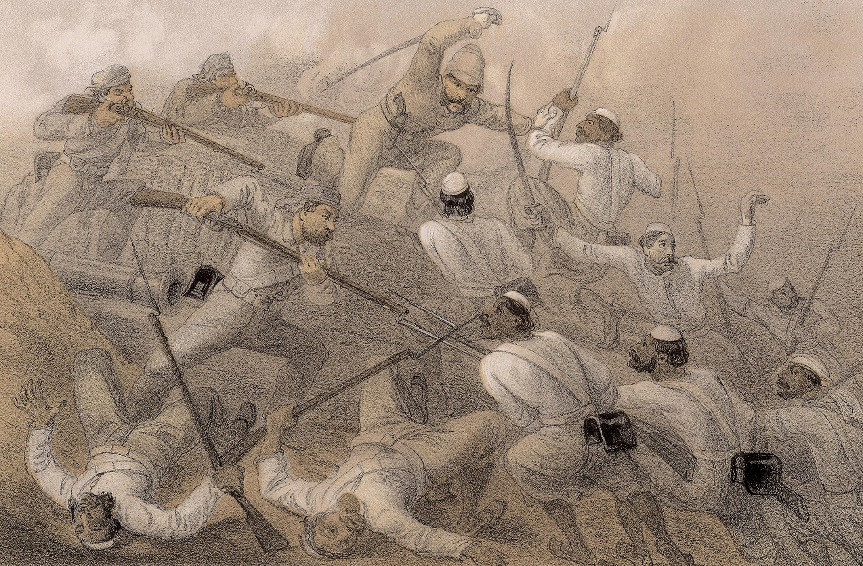 A Timeline of India in the 1800s (British Raj)