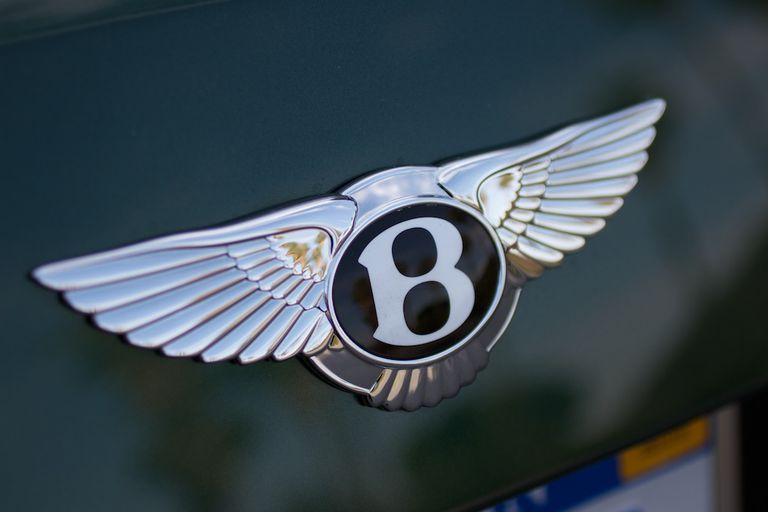 2013 Bentley Mulsanne badge