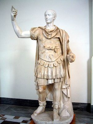 Caesar at the Museo Archeologico Nazionale Napoli