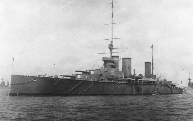 HMS Queen Mary battleship