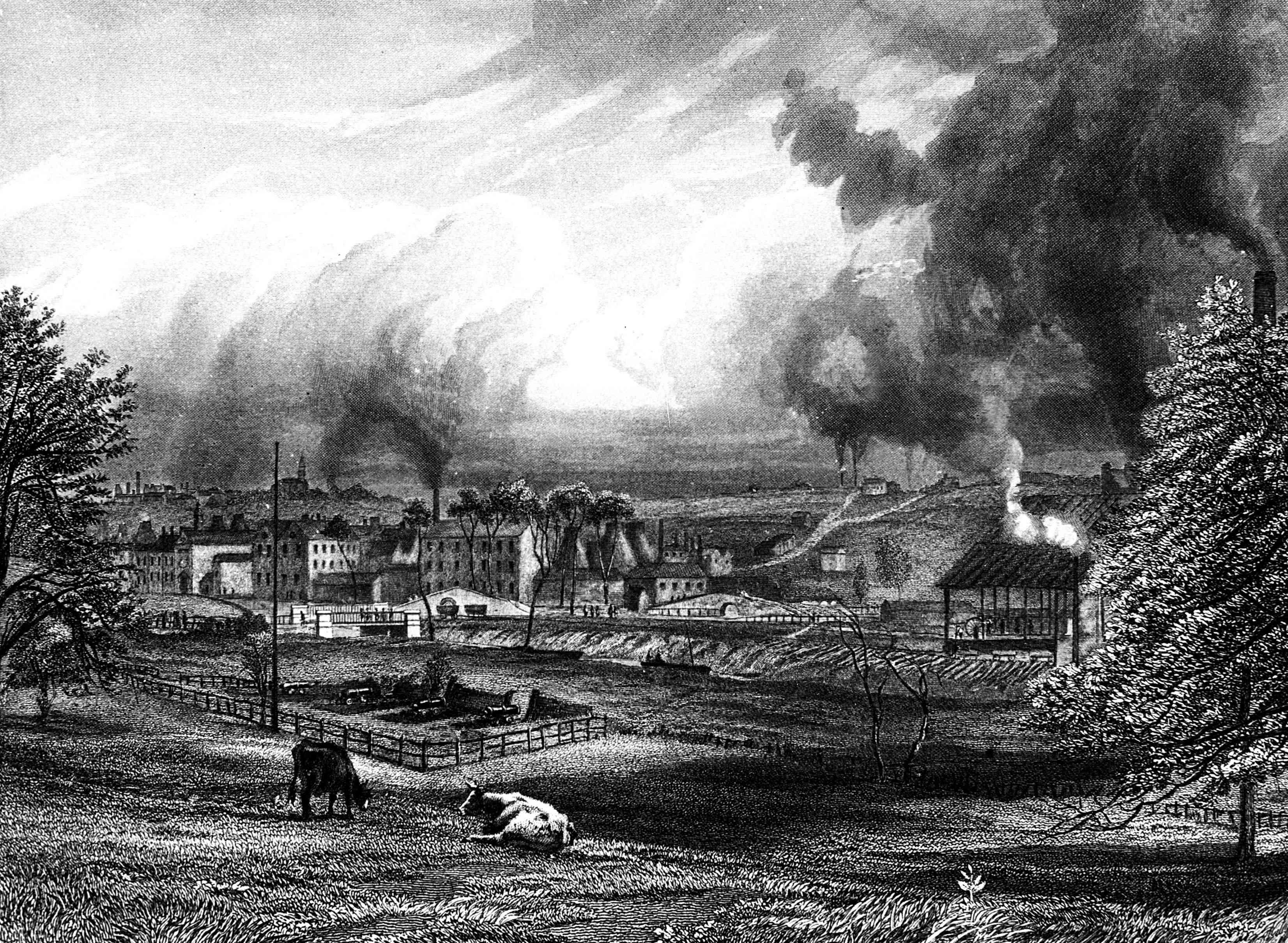 Wedgwood Etruria Factory, ca 1753