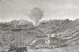 Illustration of the Battle of Boyaca