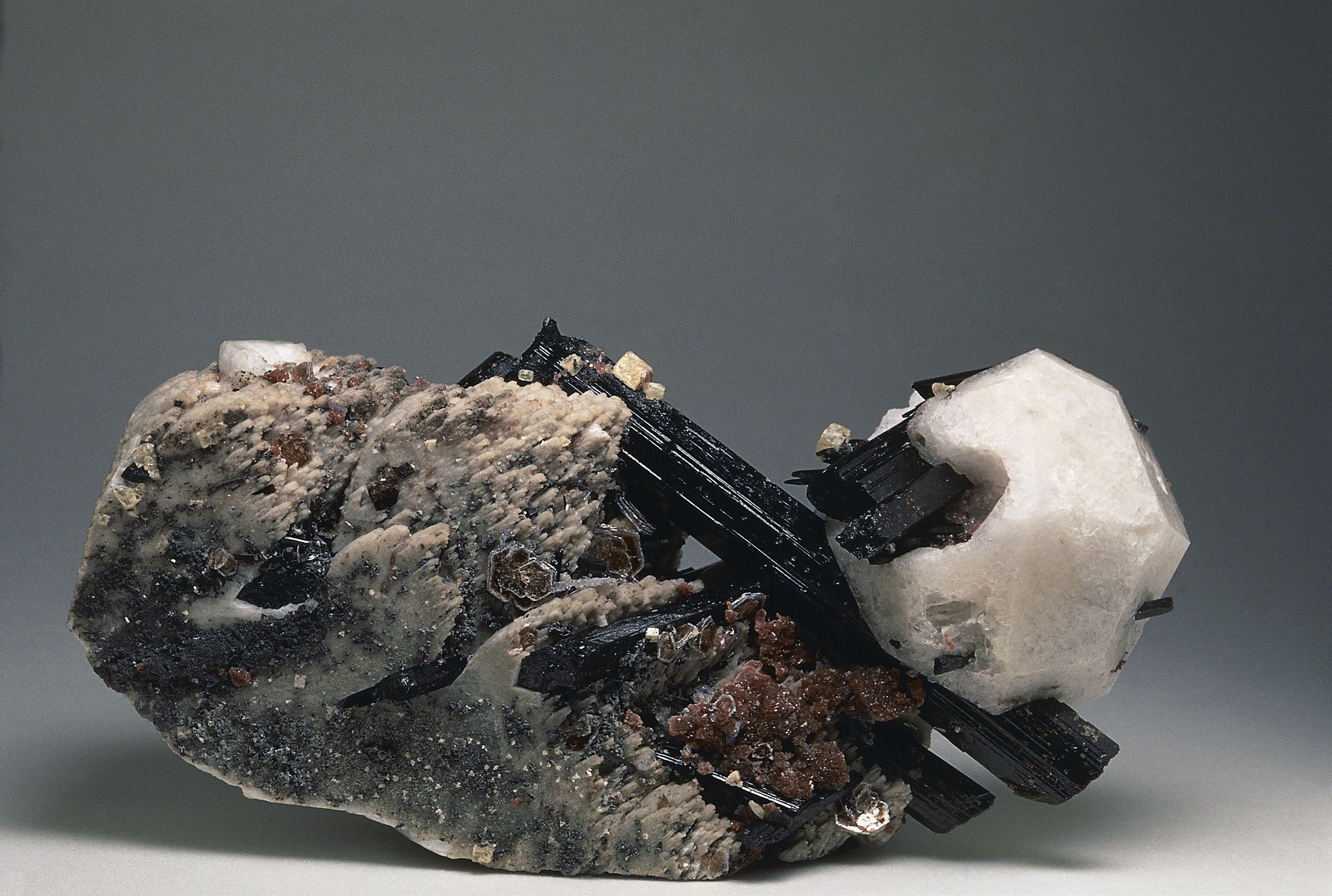 Close-up of an Aegirine rock