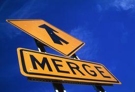 Merge sign