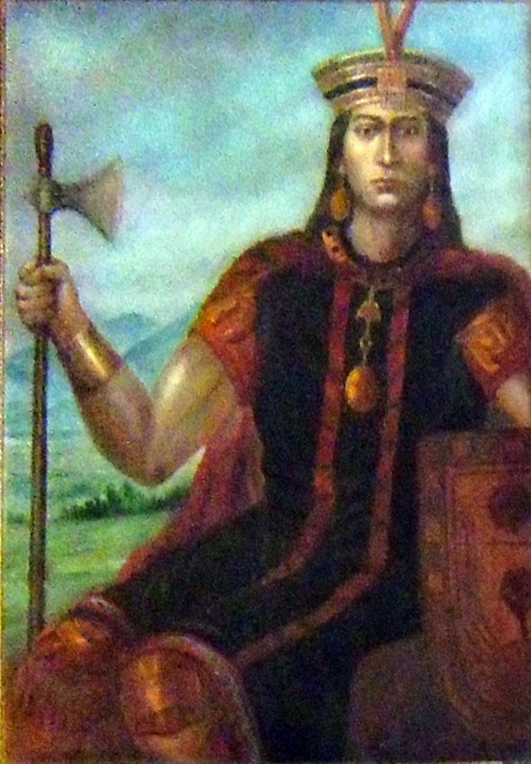 Manco Inca. Artist Unknown