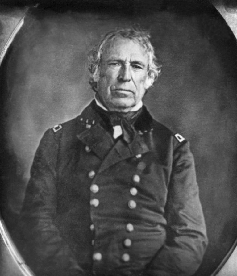 Portrait of Zachary Taylor.