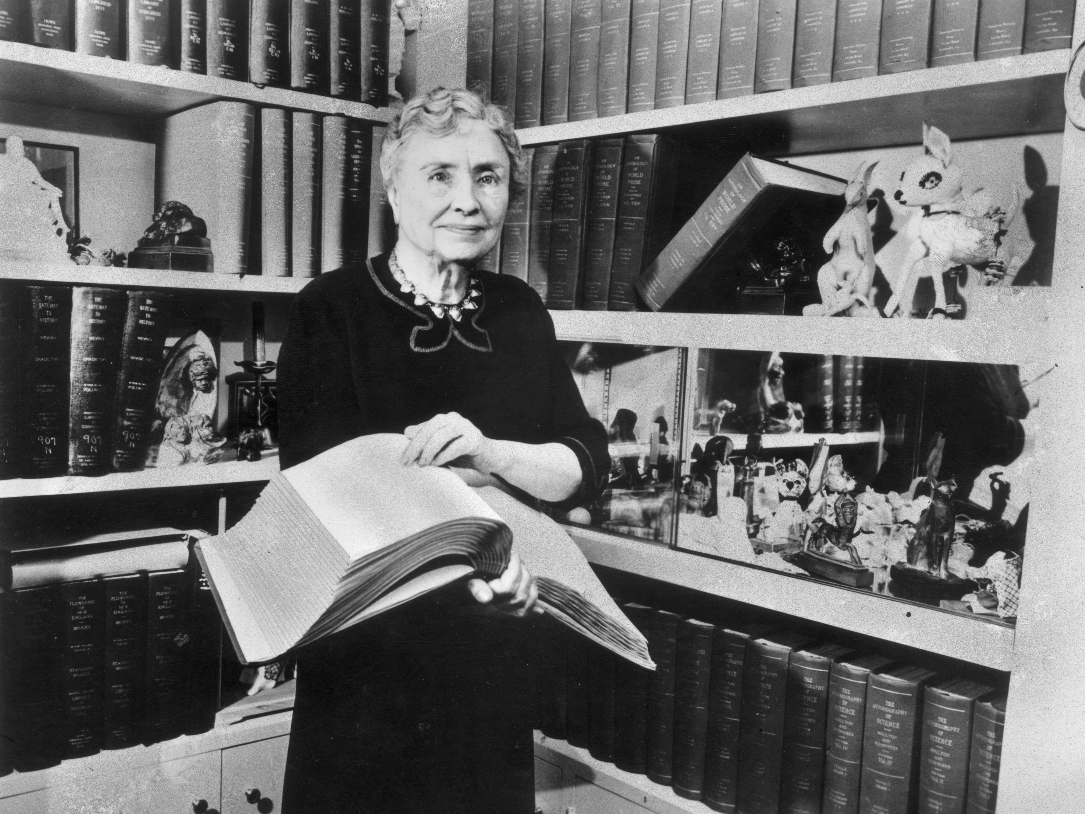 Helen Keller Deaf And Blind Spokesperson And Activist