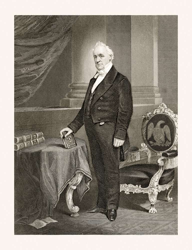 James Buchanan, 19 Century Portrait