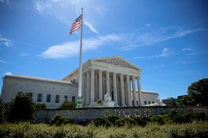 The US Supreme Courthouse