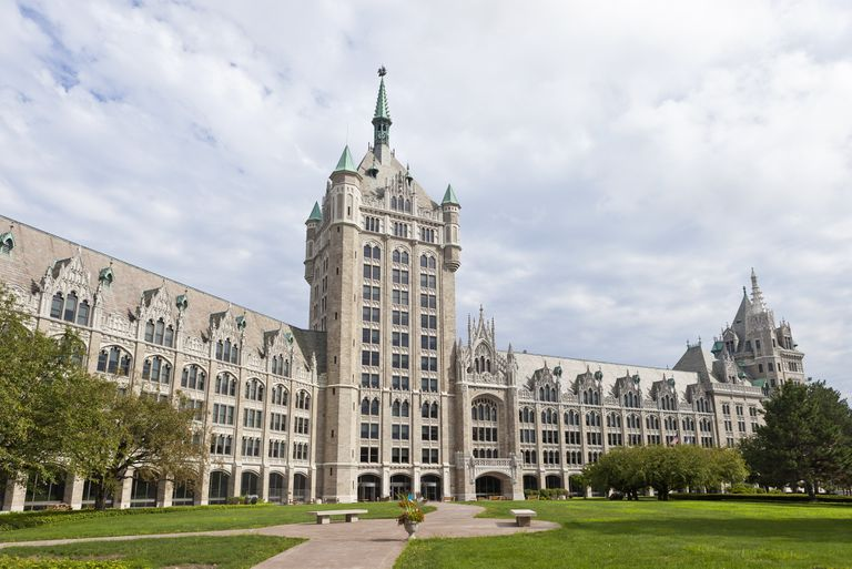 SUNY Administration Building In Albany, New York