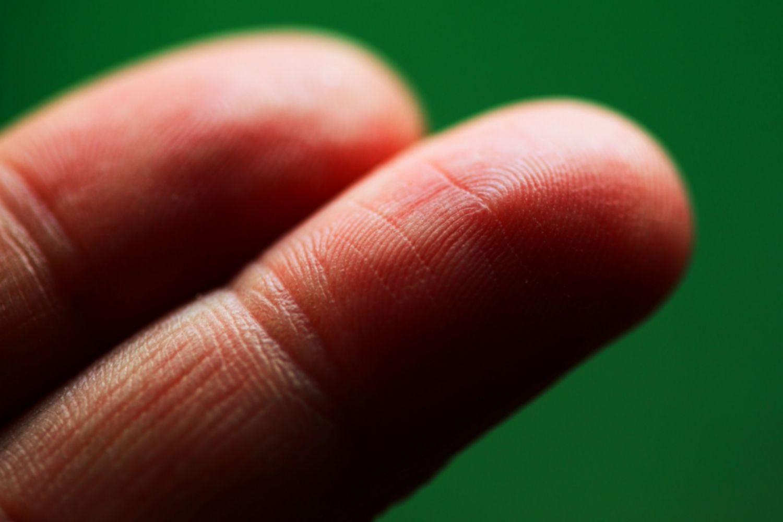 Two Fingers Fingerprints