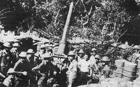 Allied troops on Corregidor