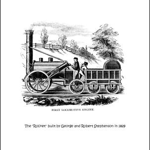 Homeschooling - Trains Coloring Book