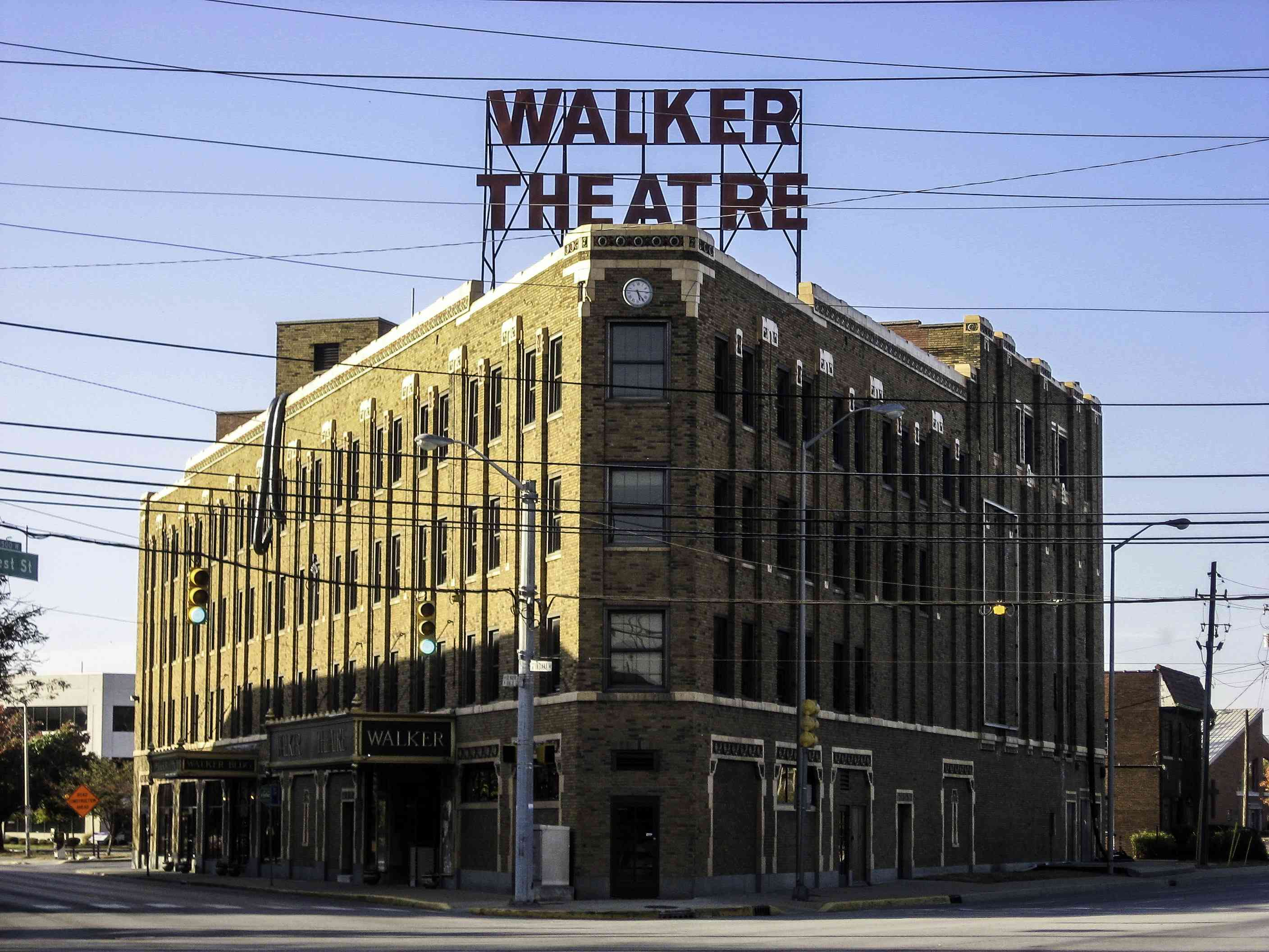 Madame Walker Theatre Center in Indianapolis, Indiana.