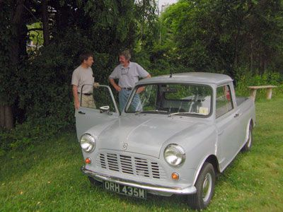 Classic British Leyland Mini Pickup Truck