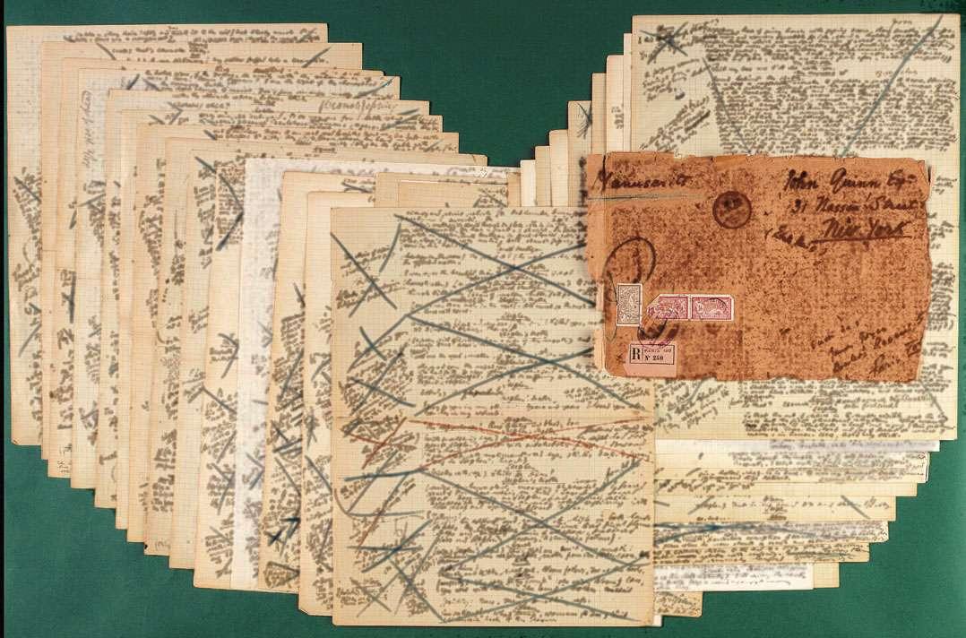 Christie's Auctions Part of Ulysse's Manuscript