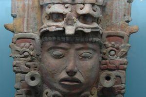 Maya Ceramic Sculpture, Museum at Tuxtla Gutiérrez, Mexico