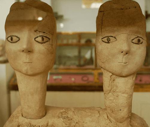 Plaster Sculptures from Ain Ghazal