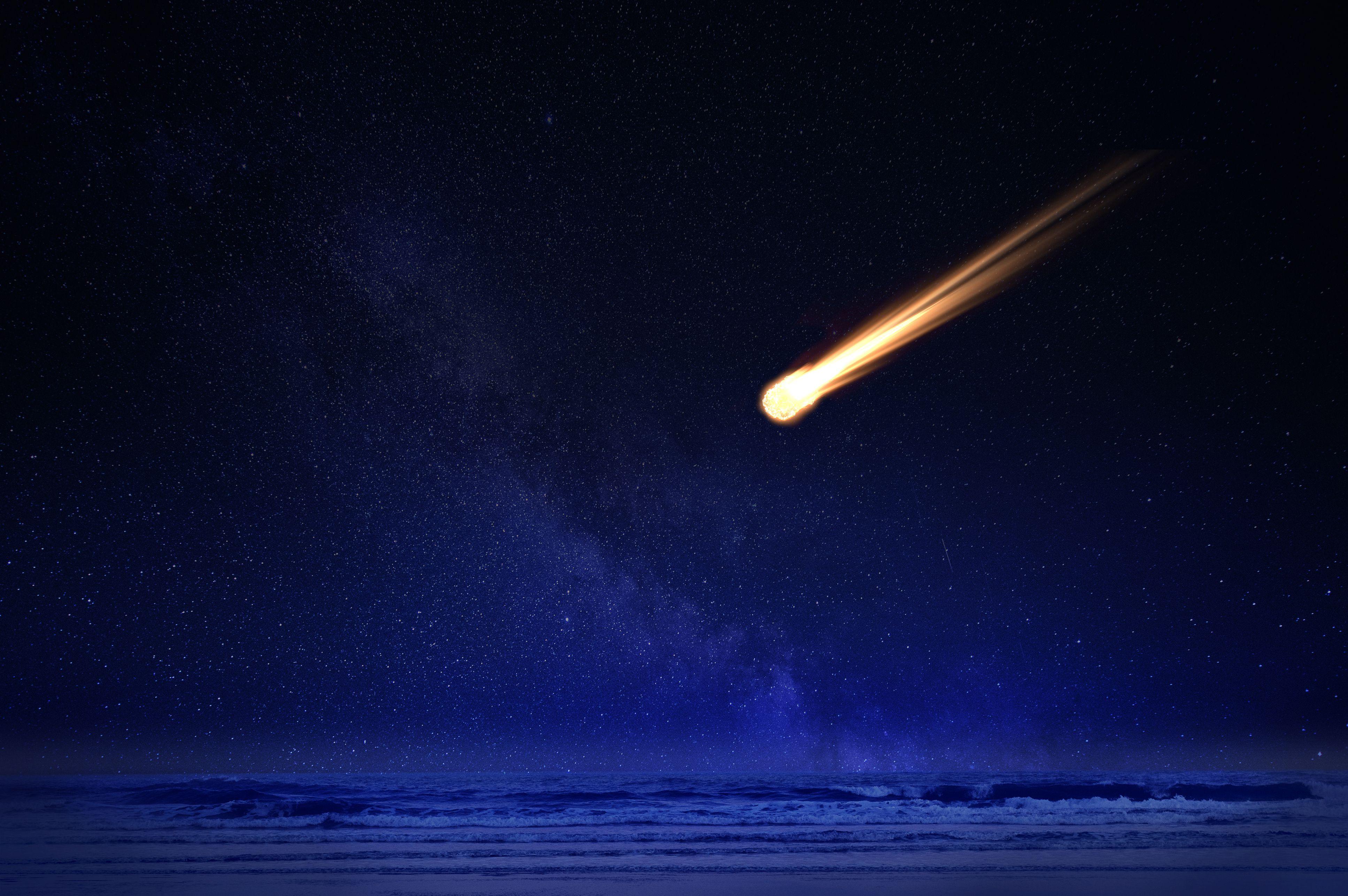 метеоры в космосе картинки использовать мобильное