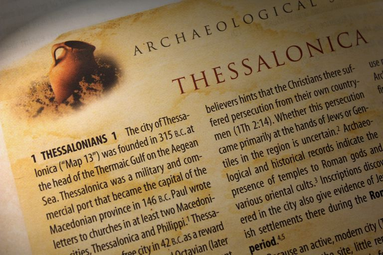1 Thessalonians of the Bible