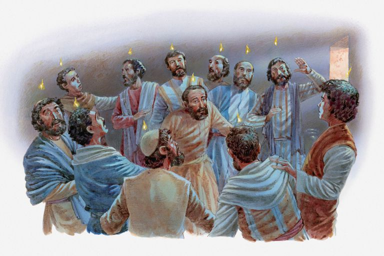 Day of Pentecost illustration