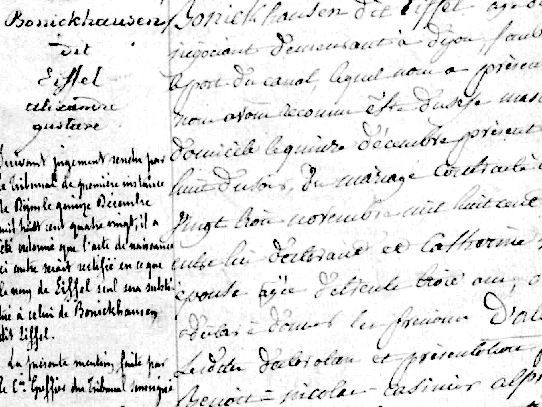 What Is a Dit Name in French Canadian Genealogy?