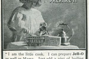 Vintage advertisement for Jell-O by the Genesee Pure Food Company in 1903.