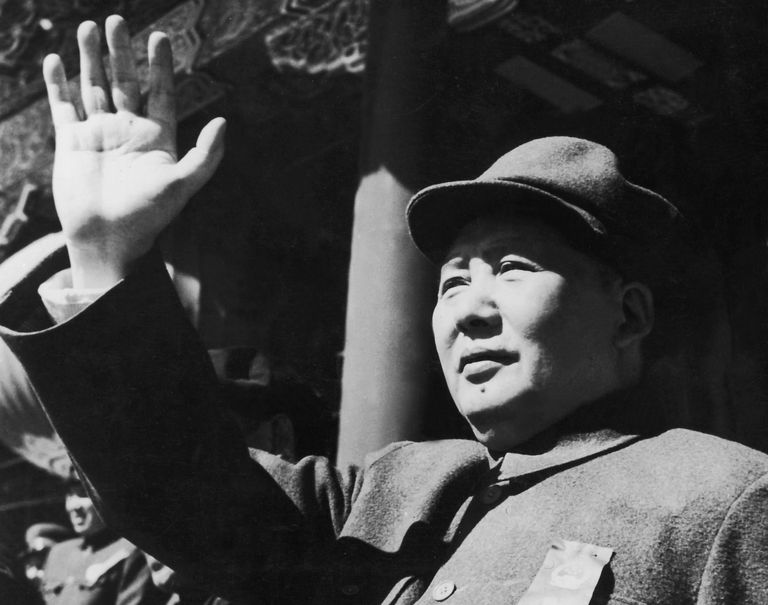Mao Zedong, Founder of the People's Republic of China