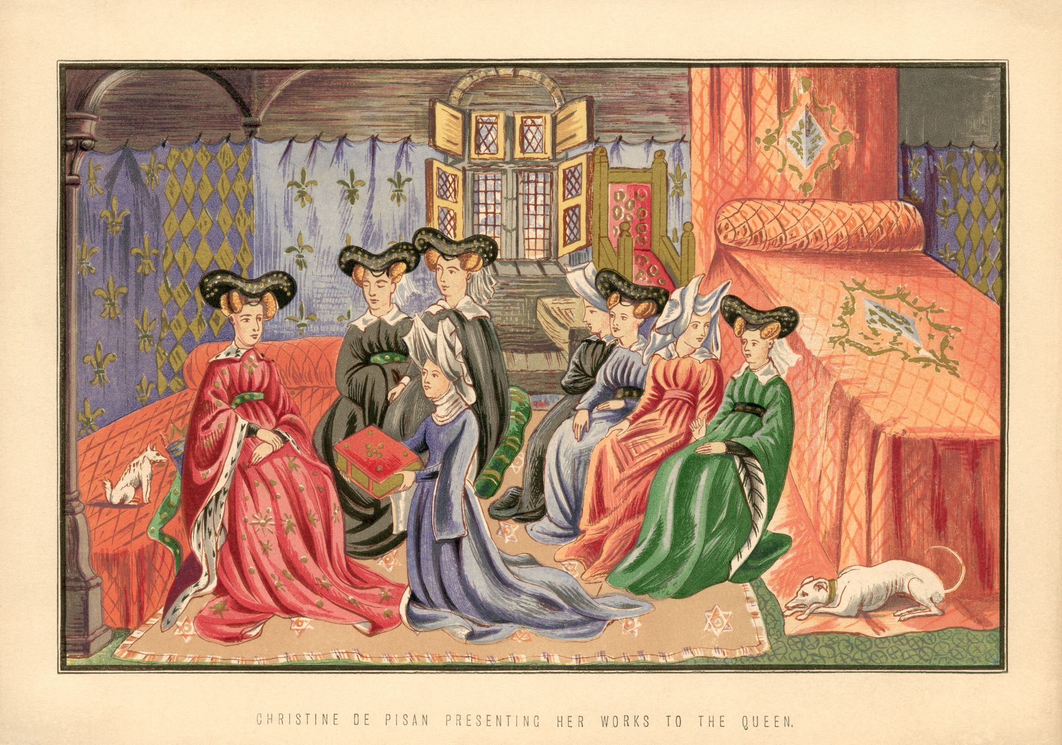 European Auto Works >> Biography of Christine de Pizan, Medieval Writer