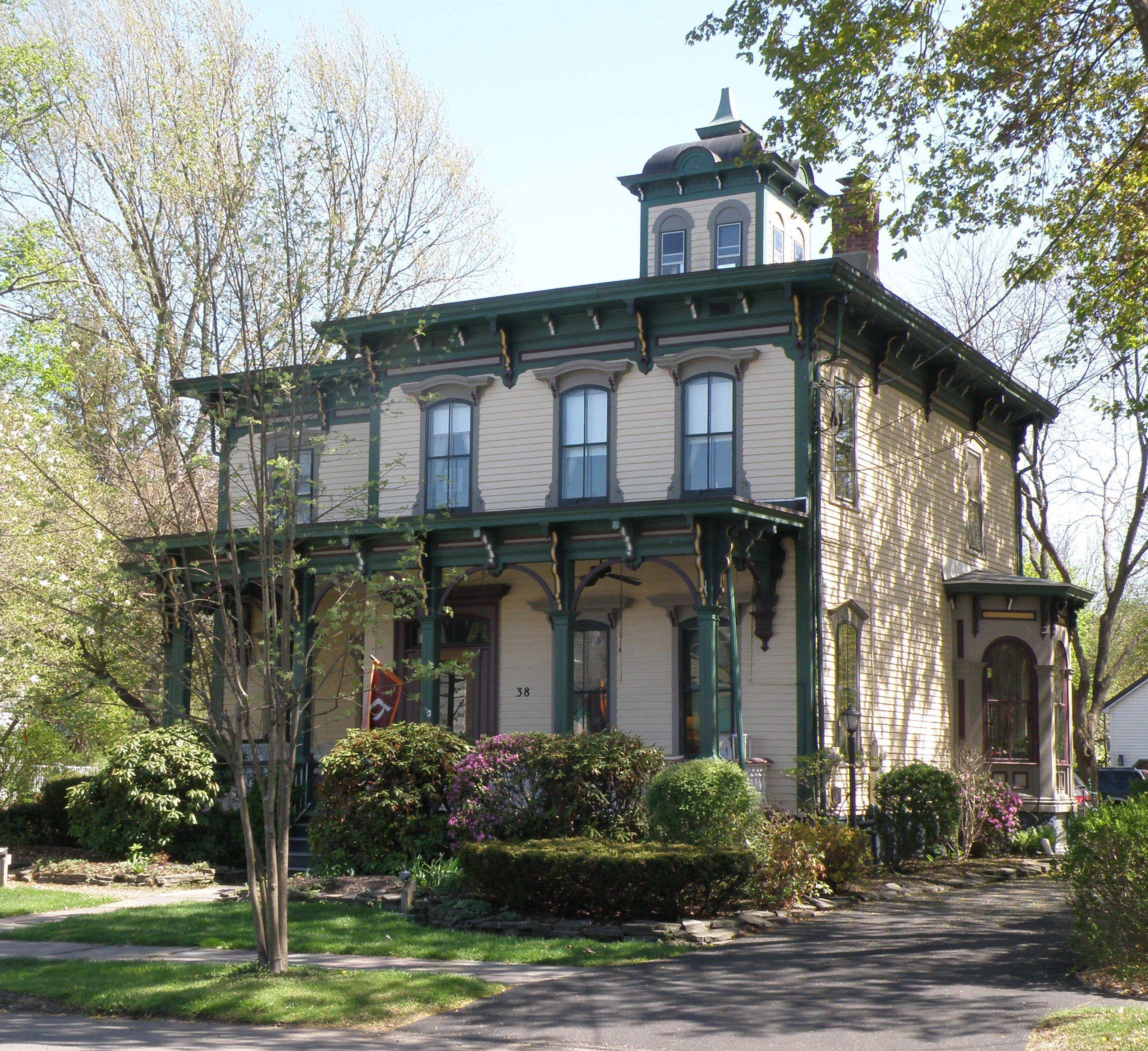 Lewis italianisant Maison à Upstate, New York