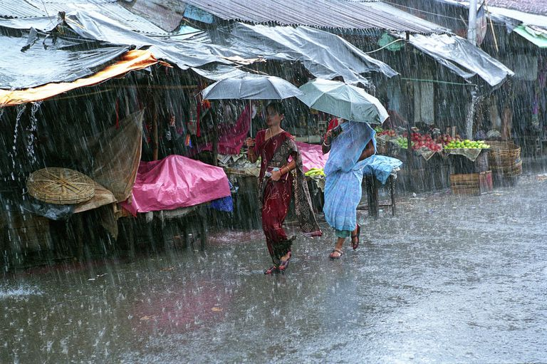 Monsoon in Calcutta
