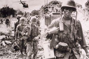 U.S. troops on patrol in Vietnam
