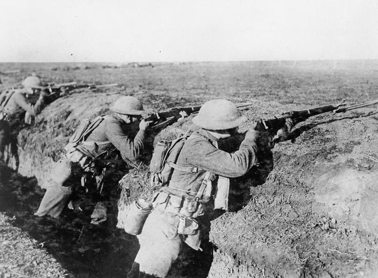 USMC using M1903 Springfields
