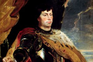 Charles the Bold of Burgundy by Peter Paul Rubens