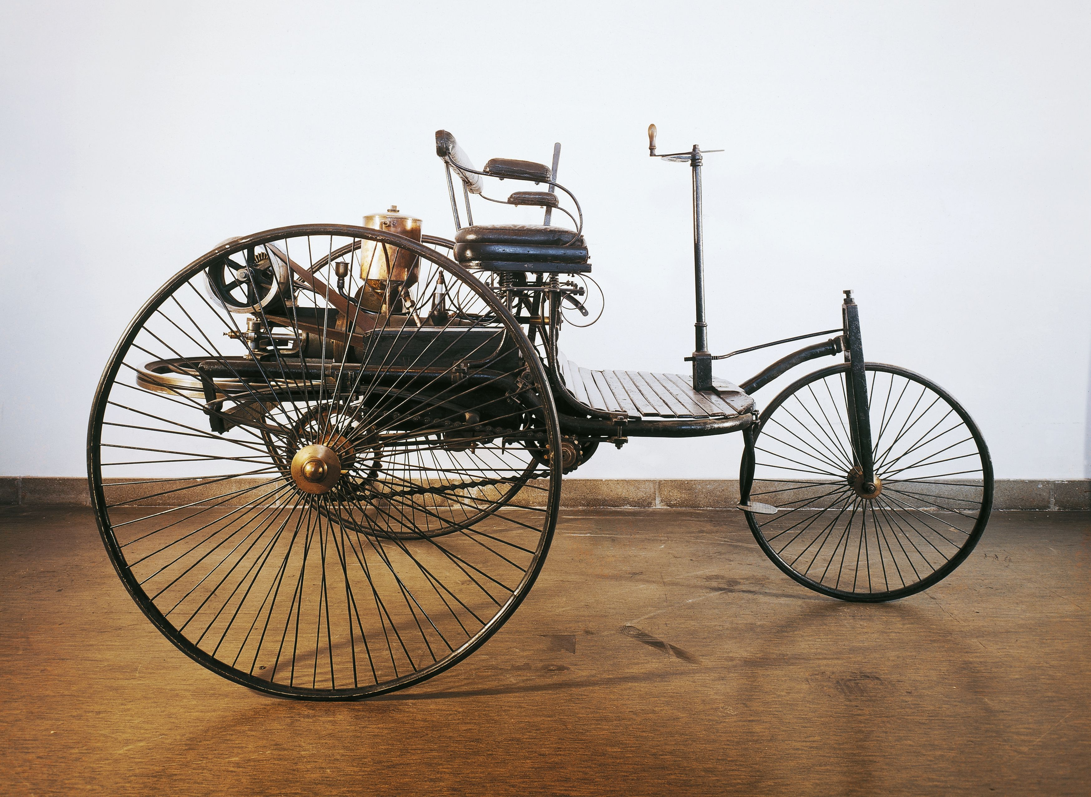 Karl Benz's First Automobile