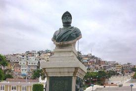 Francisco de Orellana bust statue