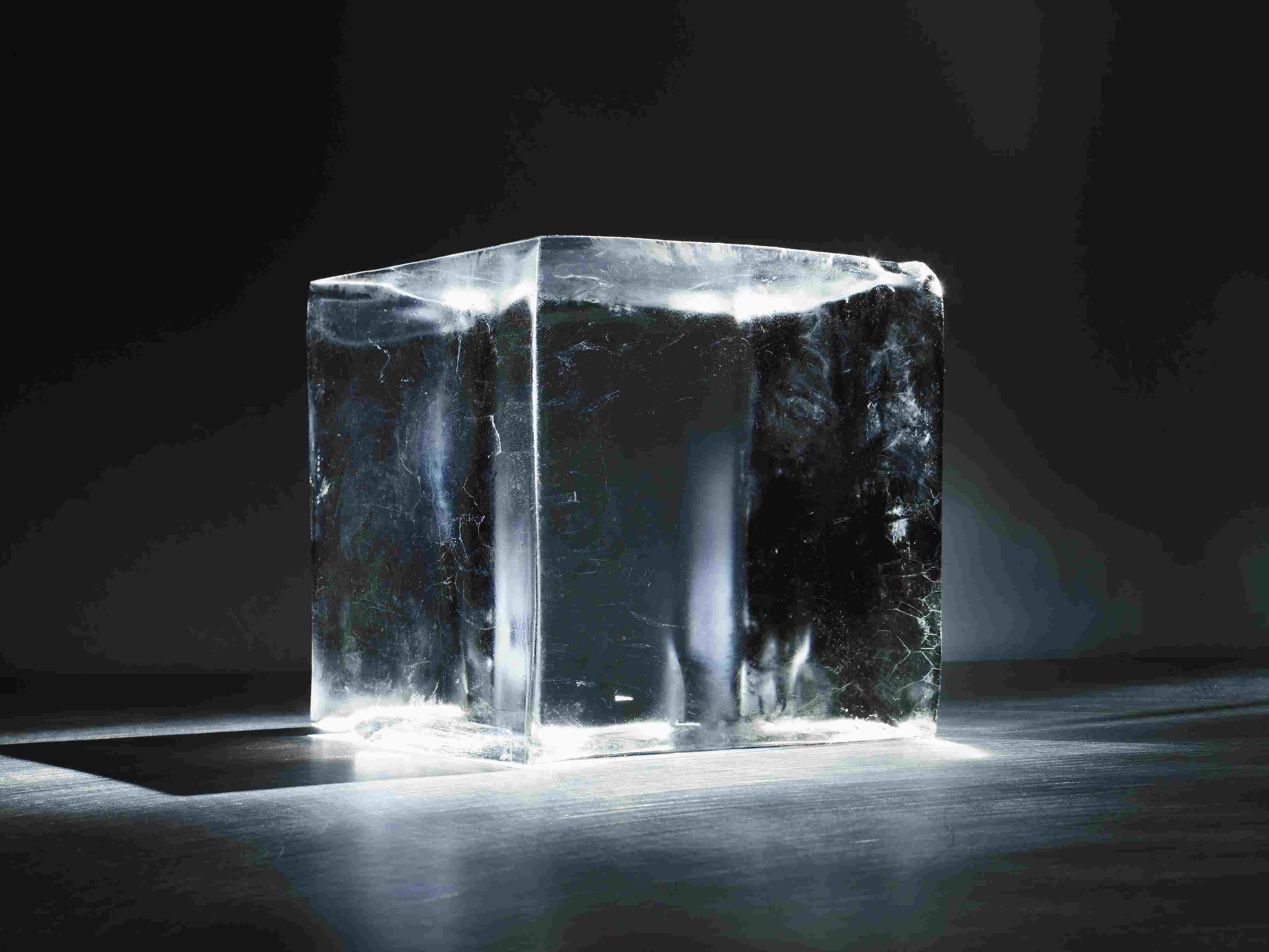 The rate at which ice forms from water depends on its starting temperature, but sometimes hot water freezes more quickly than cold water.