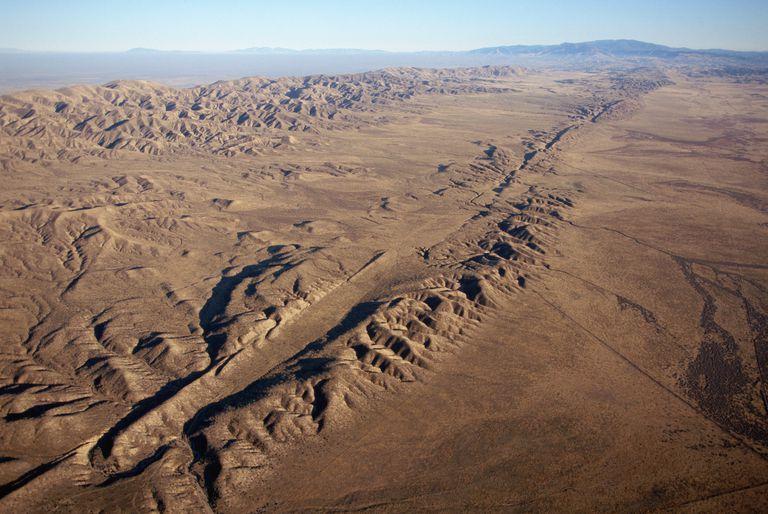 Earthquakes San Andreas Fault