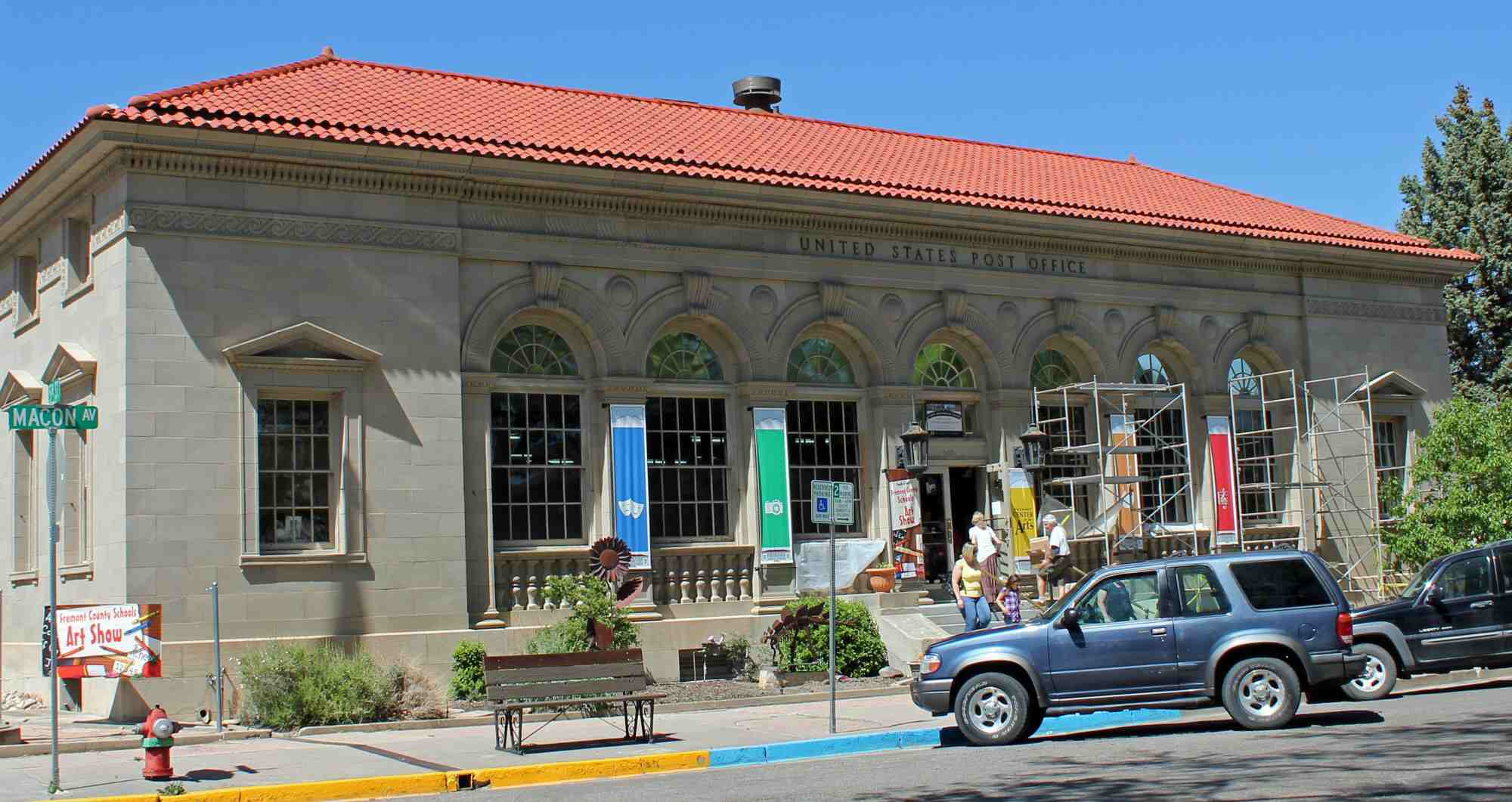 Photo of Italian Renaissance Revival style post office.