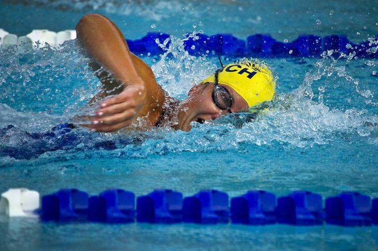 Swimming Distance Per Stroke And Swim Stroke Rate