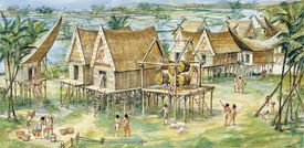 Vietnam, Reconstructed Dong Son village