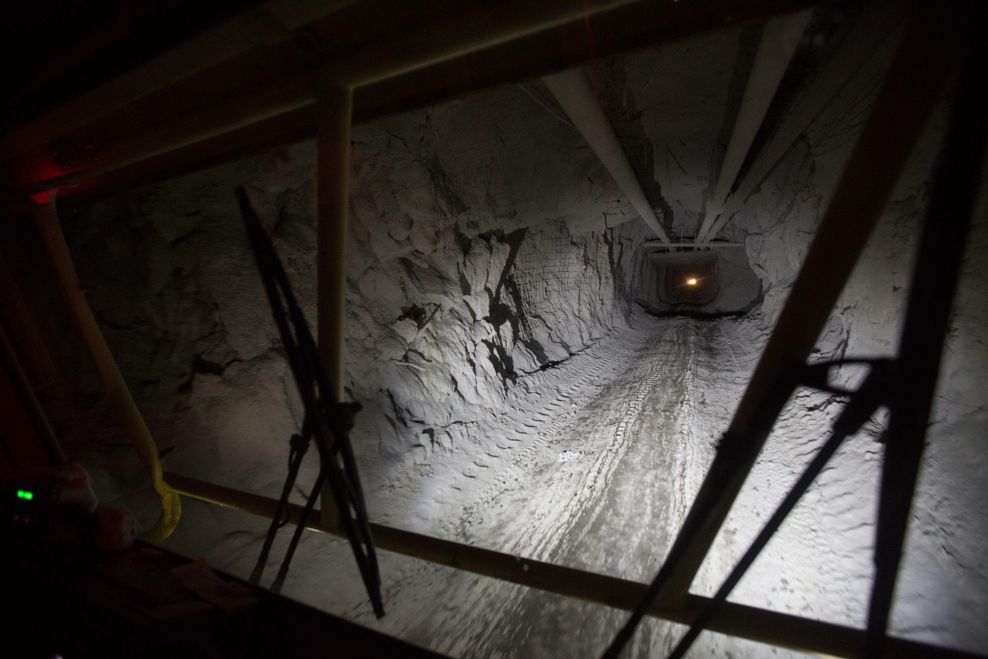 Underground nickel mine