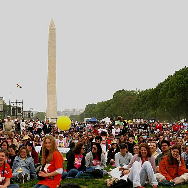 The March for Women's Lives, 2004